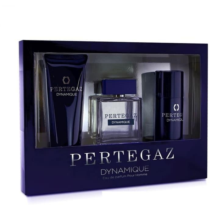 pertegaz dynamique pour homme eau de parfum cofre regalo 3 piezas