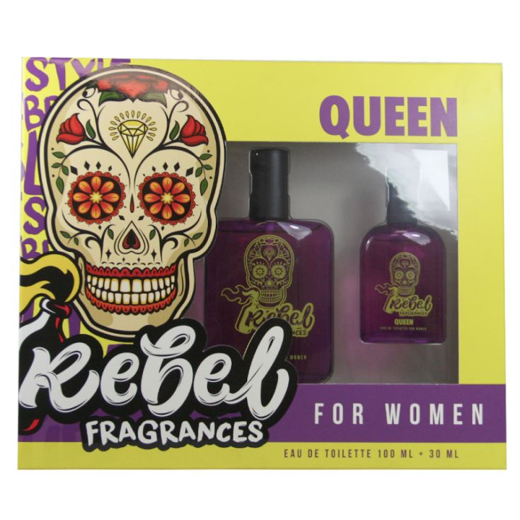 rebel queen woman cofre 100ml + mini