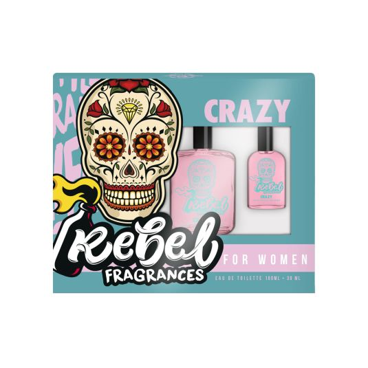 rebel crazy woman cofre 100ml + mini
