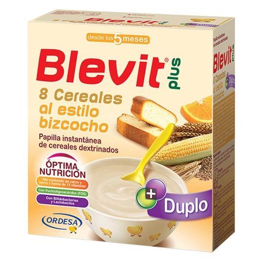 blevit plus duplo 8 cereales bizcocho 600g