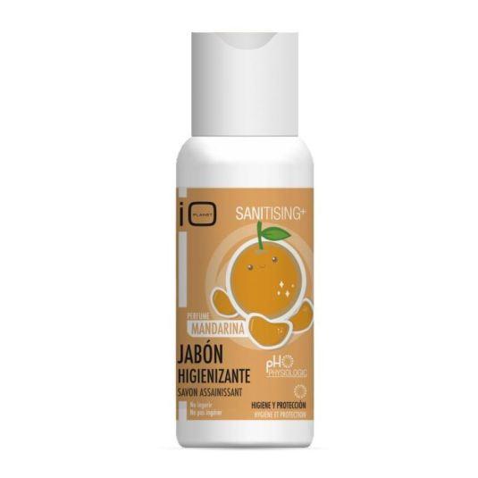 io planet jabon higienizante de manos infantil perfumado mandarina 100ml