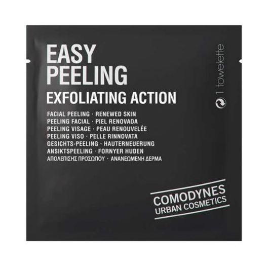 comodynes easy peeling toallita exfoliante facial monodosis