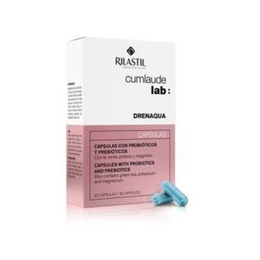 cumlaude lab drenaqua eliminacion de liquidos 30 capsulas