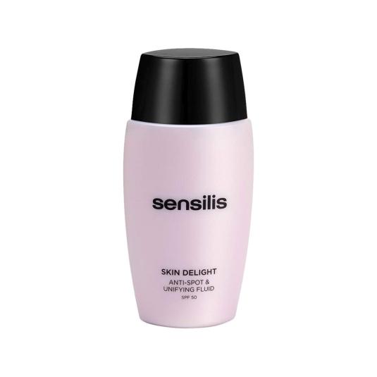 sensilis skin delight tratamiento facial fluido corrector anti manchas spf50+ 50ml