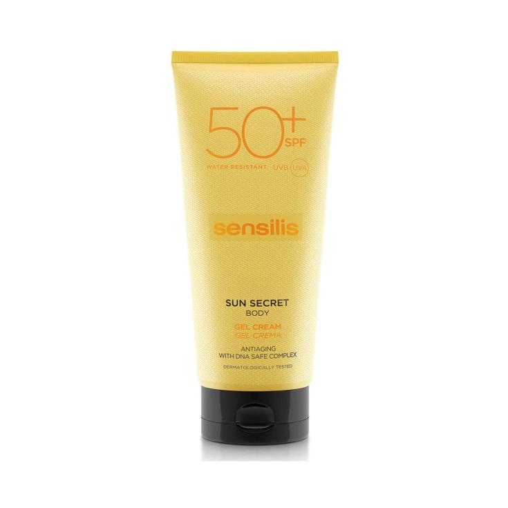 sensilis sun secret gel solar corporal spf50+ 200ml
