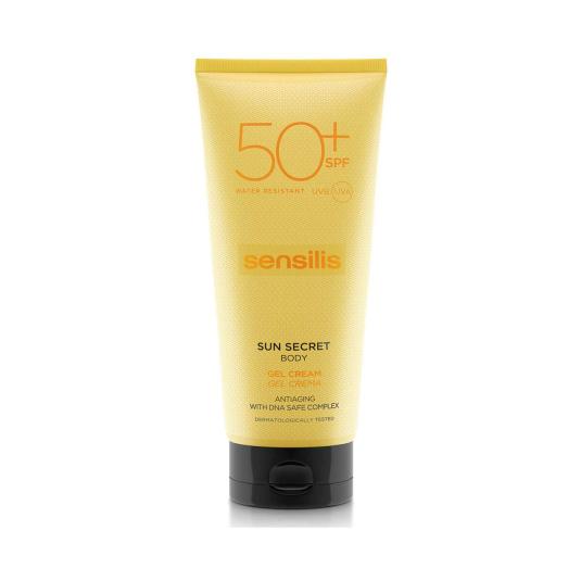 sensilis sun secret crema protectora solar corporal spf50 200ml