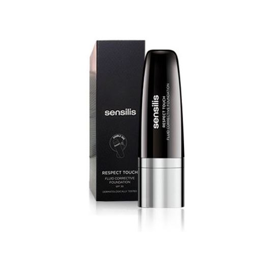 sensilis respect touch amande 01 base maquillaje spf30 30ml