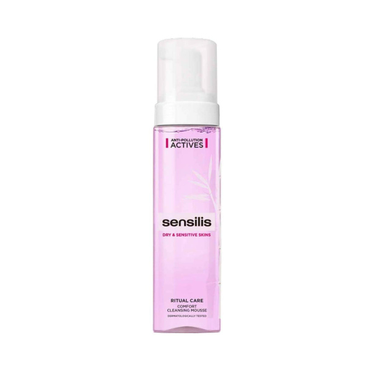 sensilis ritual care mousse limpiadora piel seca-sensible 200ml