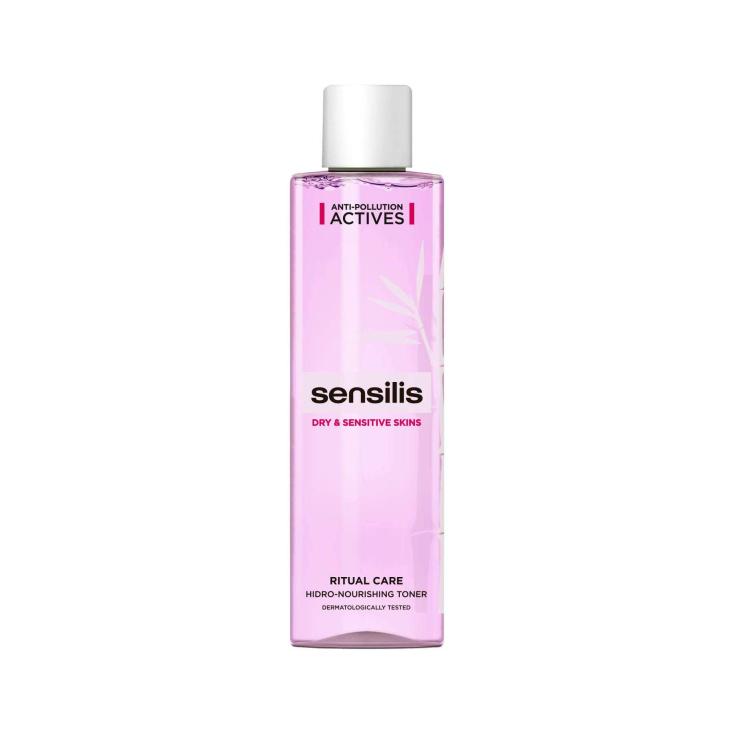 sensilis ritual care tonico hidratante-nutritivo piel seca-sensible 200ml