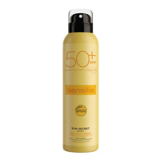 sensilis sun secret dry touch protector solar corporal spf50+ 200ml