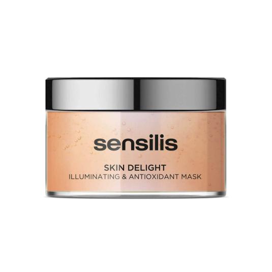 sensilis skin delight mascarilla facial hidratante antiedad y antioxidante 150ml