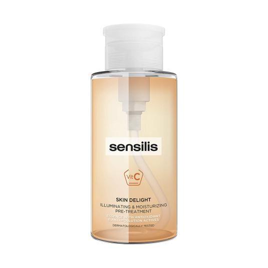 sensilis skin delight esencia con activos anti-oxidantes y anti-polución 300ml