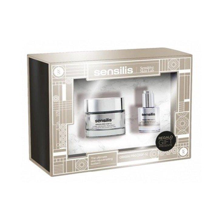 sensilis origin pro egf-5 crema 50ml set 2 piezas