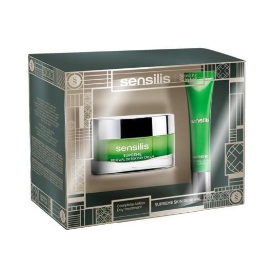 sensilis supreme renewal crema de dia 50ml set 2 piezas