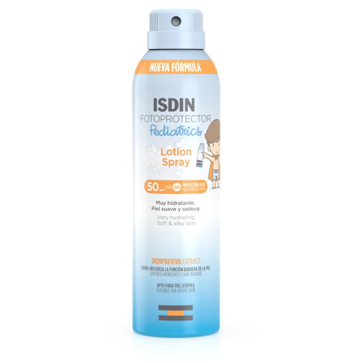 isdin fotoprotector corporal bebes-niños pediatrics lotion spray spf50 250ml