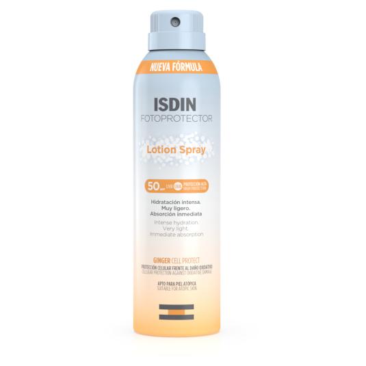 isdin fotoprotector corporal lotion spray spf50+200ml