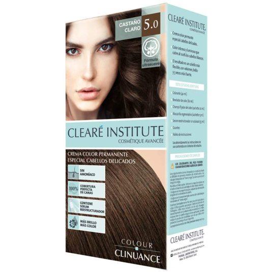colour clinuance tinte cabellos delicados 5.0 castaño claro