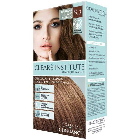 colour clinuance tinte cabellos delicados 5.3 castaño claro dorado