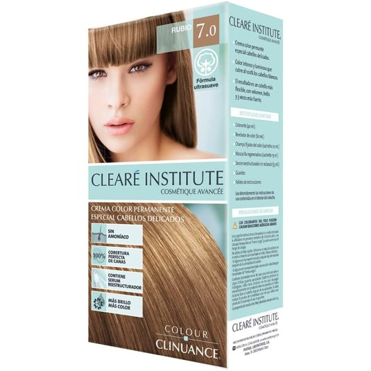 colour clinuance tinte cabellos delicados 7.0 rubio