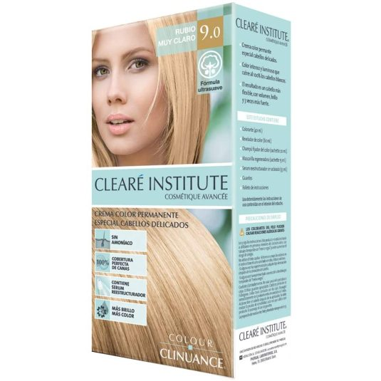 colour clinuance tinte cabellos delicados 9.0 rubio muy claro