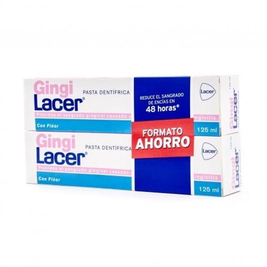 lacer pasta dentifrica gingilacer 125ml duplo