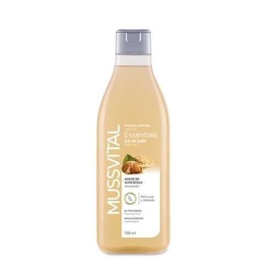 mussvital gel de baño aceite de almendra 750ml
