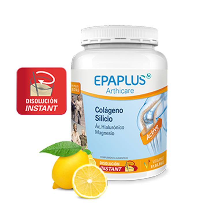 epaplus arthicare colágeno + silicio limón