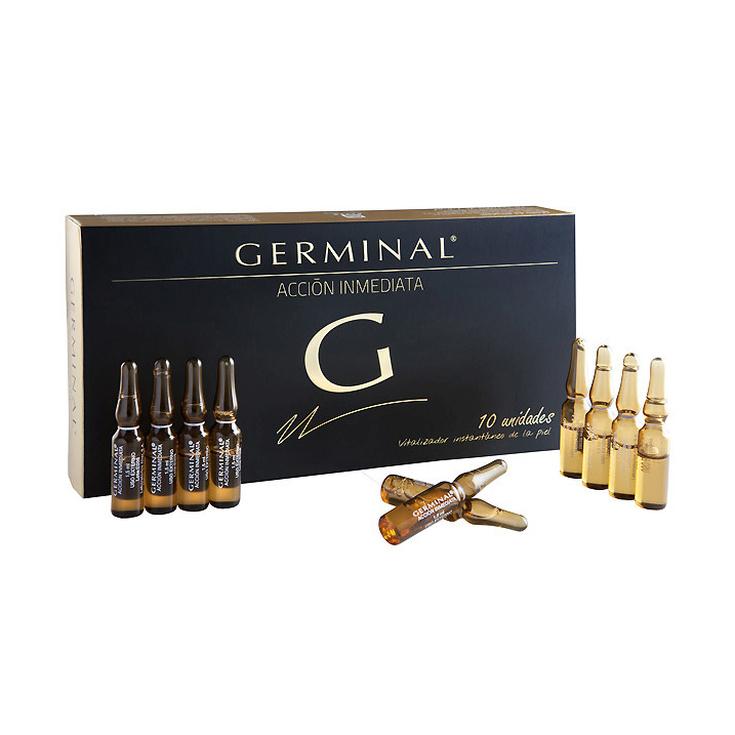 germinal accion inmediata efecto flash 10 ampollas