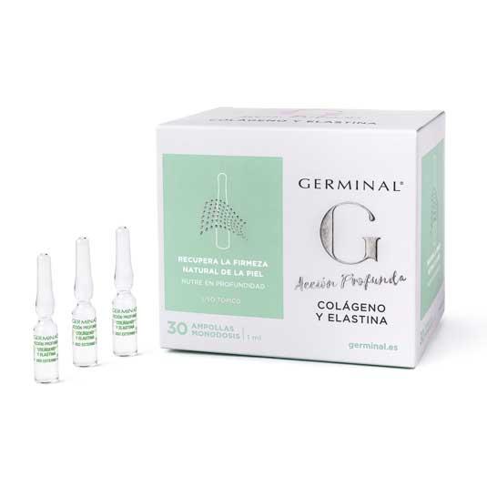 germinal acción profunda colágeno y elastina 30 ampollas