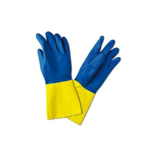 sanyc guante bicolor talla mediana 1 par