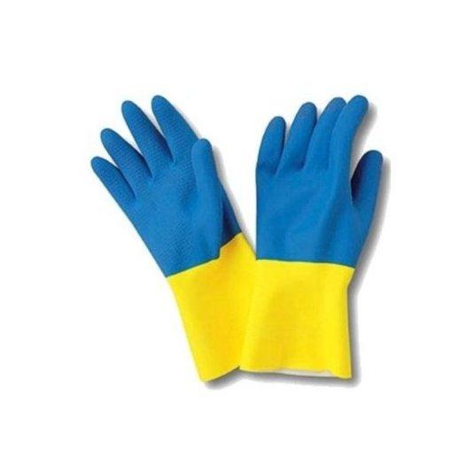 sanyc guante goma bicolor talla grande 1 par