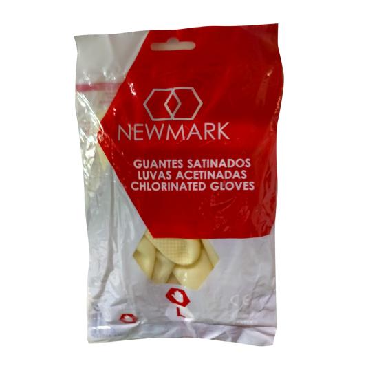 new mark guantes satinados de menaje talla grande l 1 par