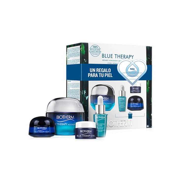 biotherm blue therapy accelerated crema 50ml tp set 4 piezas
