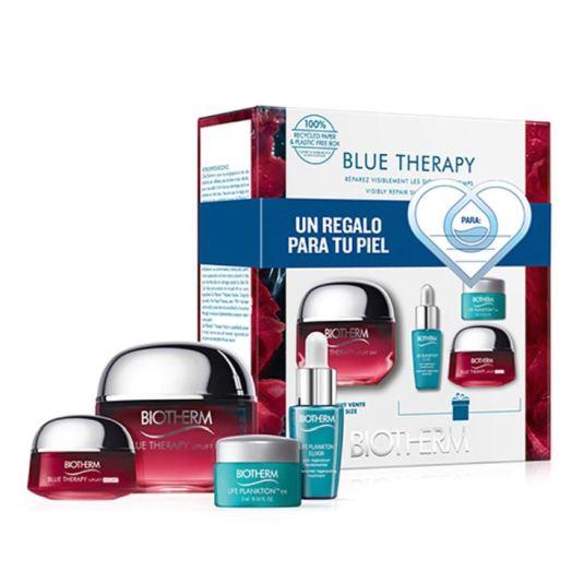 biotherm blue therapy red algae uplift crema 50ml set 4 piezas