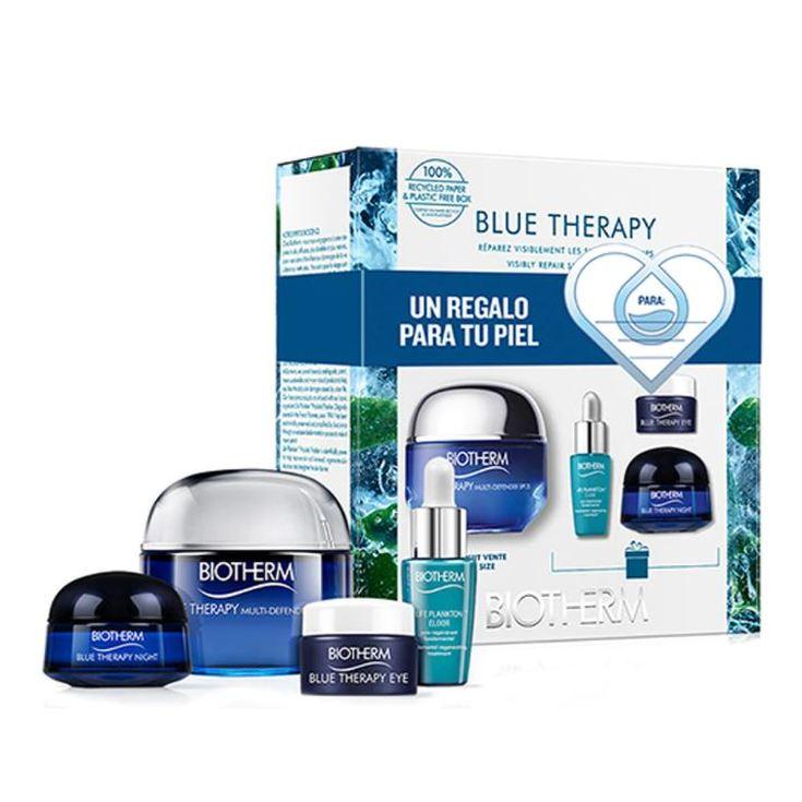 biotherm blue therapy multi-defender crema spf25 50ml set 4 piezas