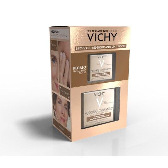 vichy neovadiol sustitutive complex piel normal/mixta 50m + crema noche 15ml set