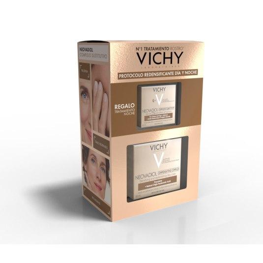 vichy neovadiol sustitutive complex piel seca 50m + crema noche 15ml set