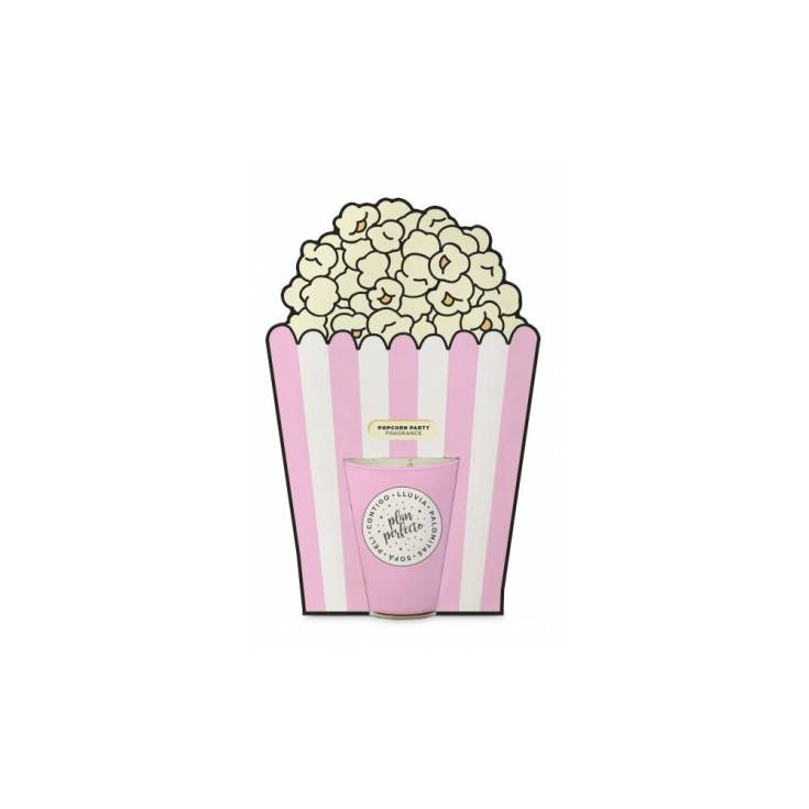 seal aromas vela decorativa popcorn party