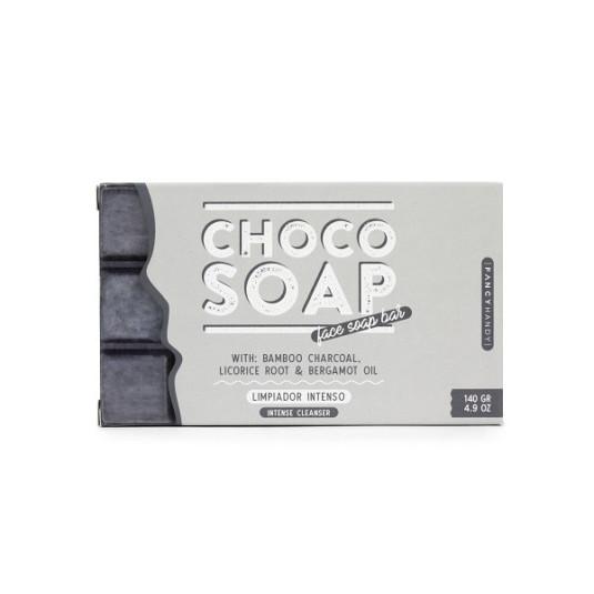 fancy handy jabón choco-bamboo limpiador facial intenso 150ml