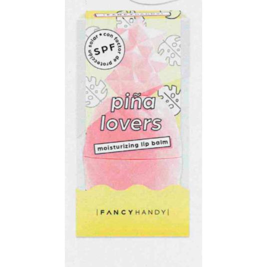 fancy handy bálsamo labial piña lovers pinneapple-pink