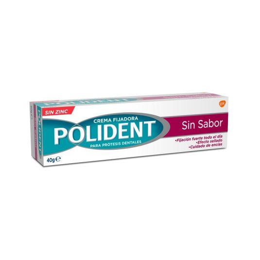 polident original crema fijadora protesis dentales sin sabor 40g