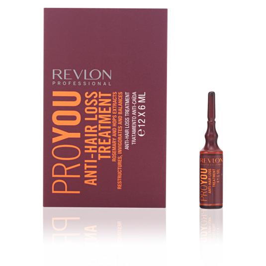 revlon proyou tratamiento anti-caida en ampollas 12x6ml