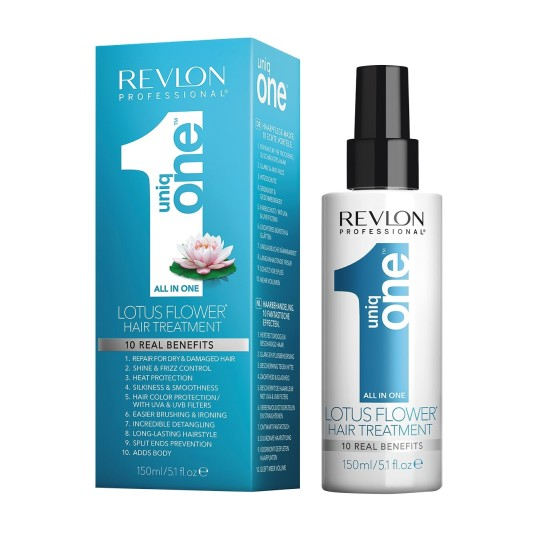 revlon pro uniq one all in one tratamiento capilar flor de loto 150ml