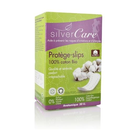 silvercare protegeslips algodon bio 30uds
