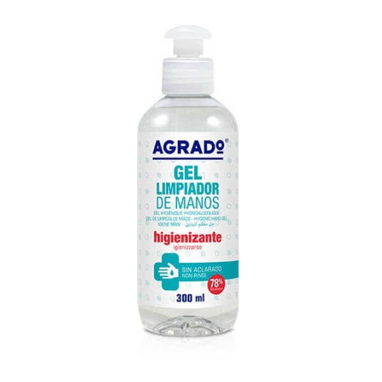 agrado gel higienizante manos 300ml