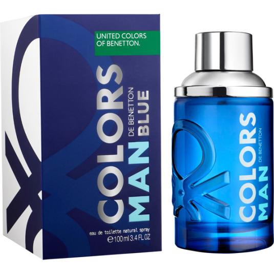 benetton colors man blue eau de toilette 100ml