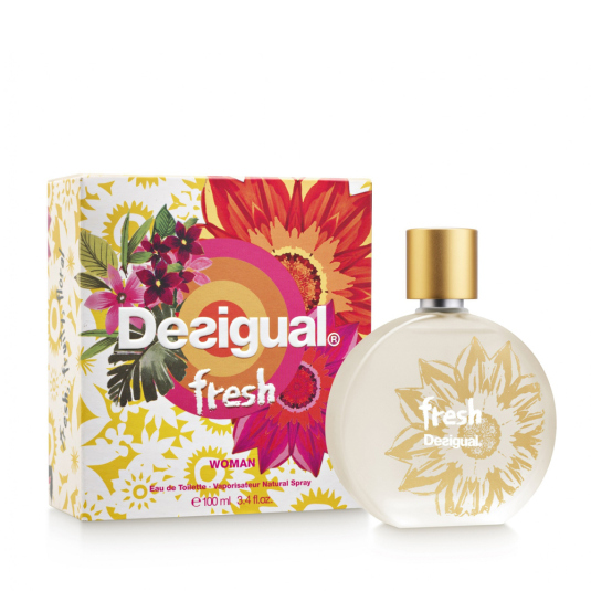 desigual fresh woman eau de toilette 100ml