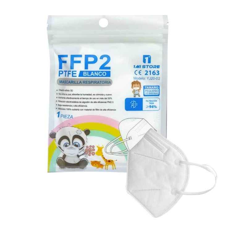 mascarilla ffp2 nr infantil blanca o negra 1 unidad