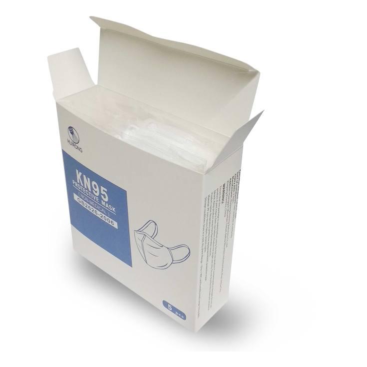 caja mascarillas kn95 5ud (2,99/unidad)