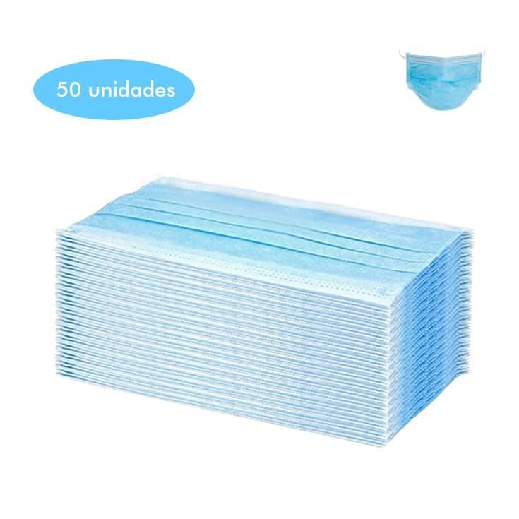 mascarilla higienica 3 capas 50 unidades (0,40/unidad)